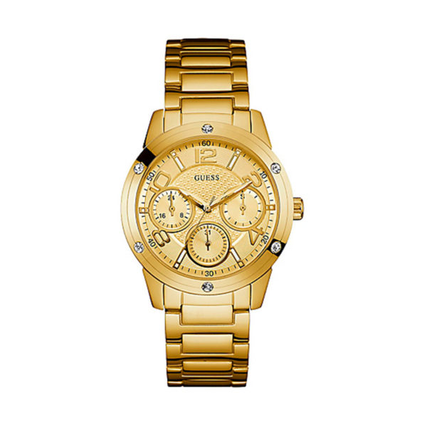 GUESS Crystals Gold