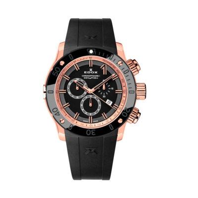 reloj cronografo edox negro 1022137RNIR