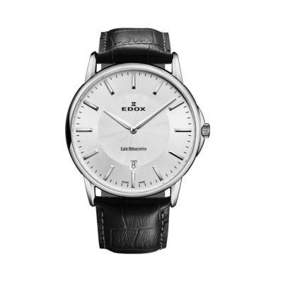 reloj edox ultra slim correa negra 56001-3-AIN