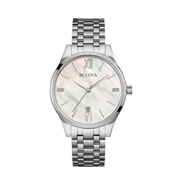 Reloj Bulova mujer tablero diamantes