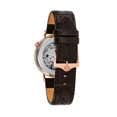 reloj Bulova automatico 97A136 cuero