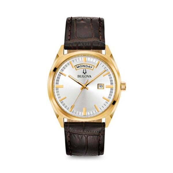 Reloj Bulova pulso en cuero