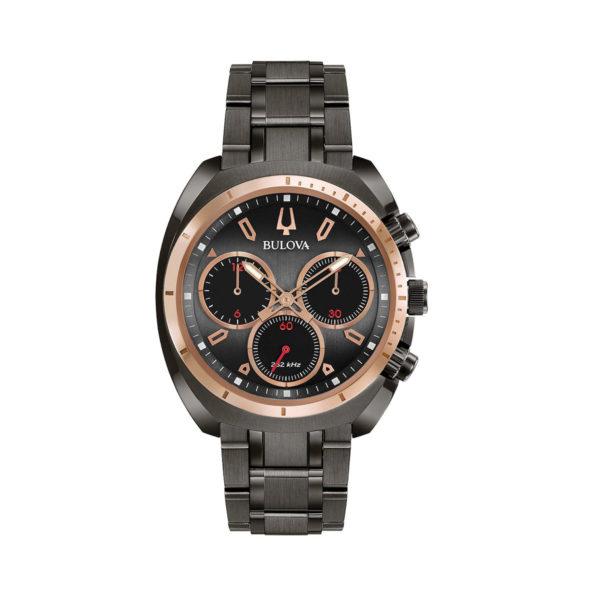 Reloj Bulova curv negro