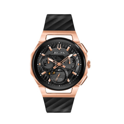 Reloj Bulova curve dvd rosa