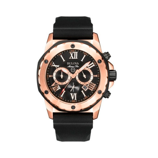 Reloj Bulova marine star negro