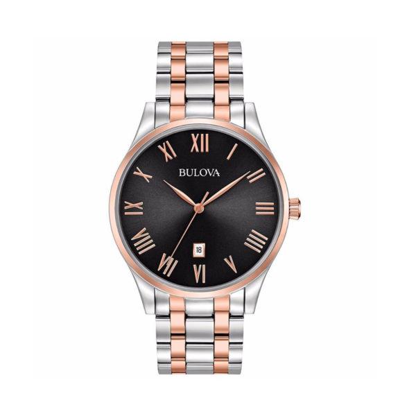 Reloj Bulova classic acero bicolor