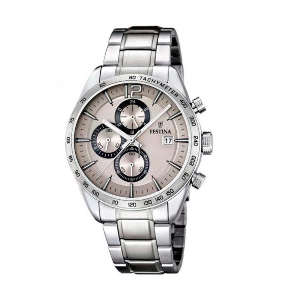 reloj festina cronografo en acero F16759/2