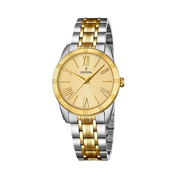 reloj festina mujer acero combinado F16941-1