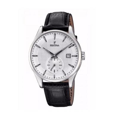 reloj festina retro pulso cuero F20277/1