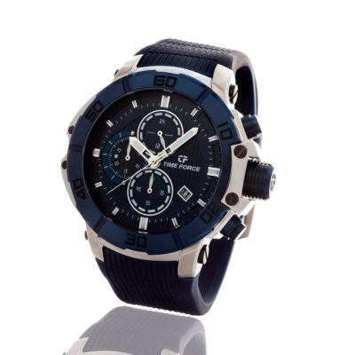 reloj time force power azul cronografo TF/A5000M-03