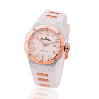 reloj time force dama blanco TF-A5015LAR-02