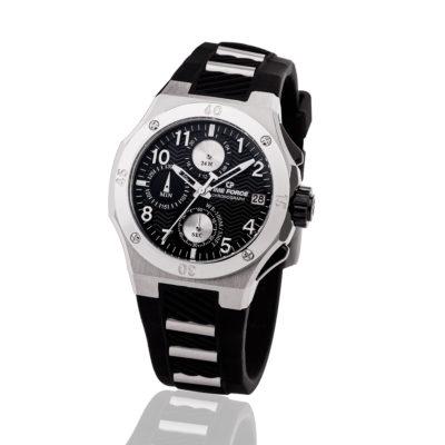 Reloj Time force TF-A5016L-01 caucho negro