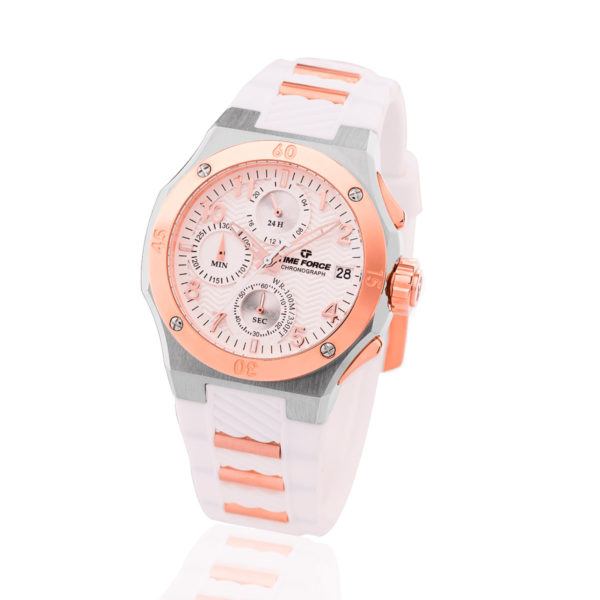 Reloj Time force blanco cronografo TF/A5016LAR-02