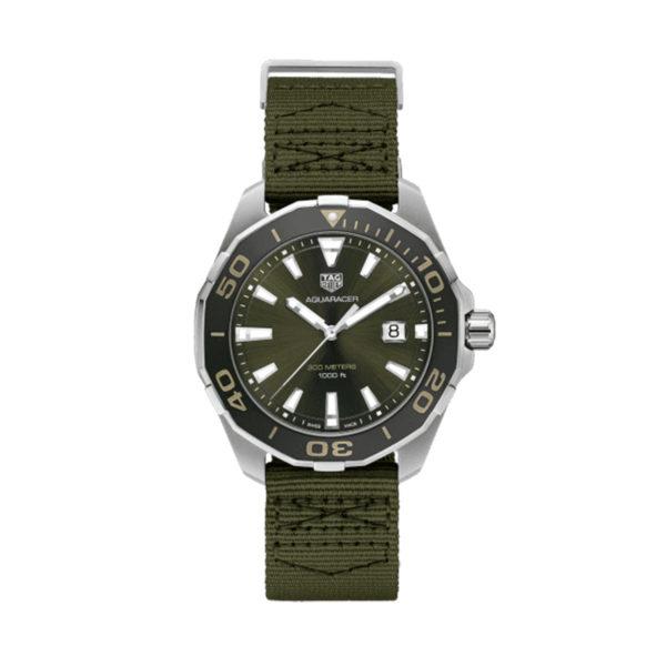 reloj tag heuer khaki verde WAY101E.FC8222