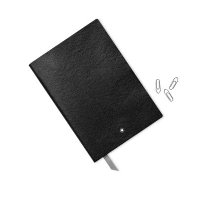 MONTBLANC Fine Stationery Cuaderno Negro con Lineas
