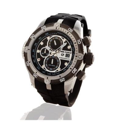reloj time force time master cronógrafo negro TF/A2012M-01