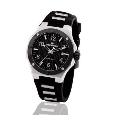 reloj time force celebration negro hombre TF/A5015L-01