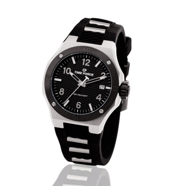 reloj time force celebration negro hombre TF/A5015L-01