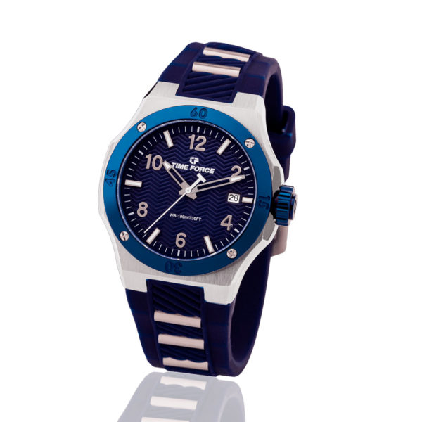 Reloj time force azul dama celebration