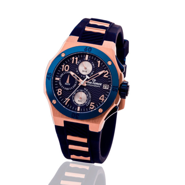 Reloj time force dama azul TF/A5016LRB-03