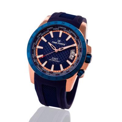 reloj time force azul gmt TF/A5018MRB-03