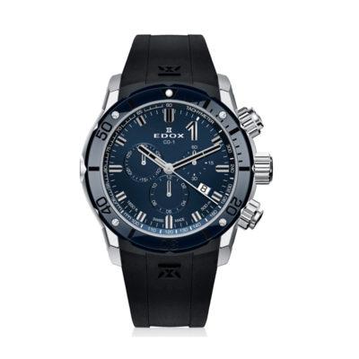 reloj hedor cronografo azul y negro 10221 3BU7 BUIN7