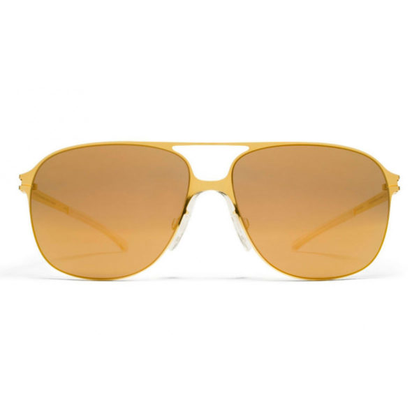 gafas mykita doradas Gold gold flash