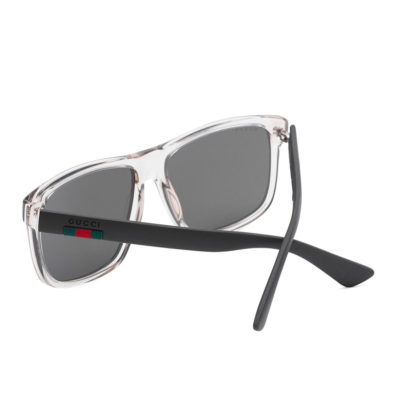 gucci transparent gray