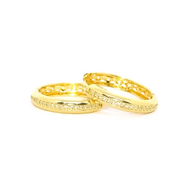 CANDONGAS Oro Amarillo Zircones