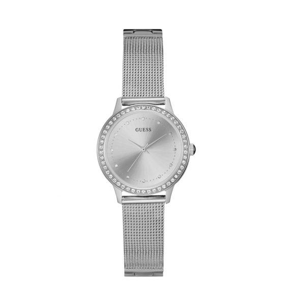 GUESS silver mesh
