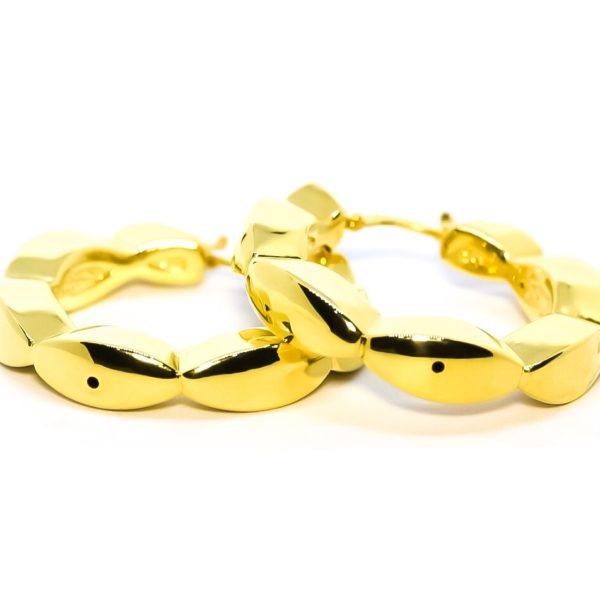 CANDONGAS Oro  Amarillo Sopladas Ondas