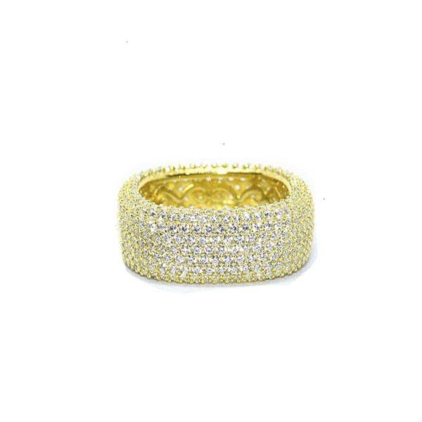 anillo plata zircon