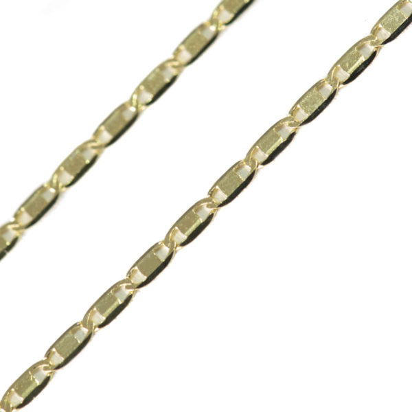 cadena oro plana