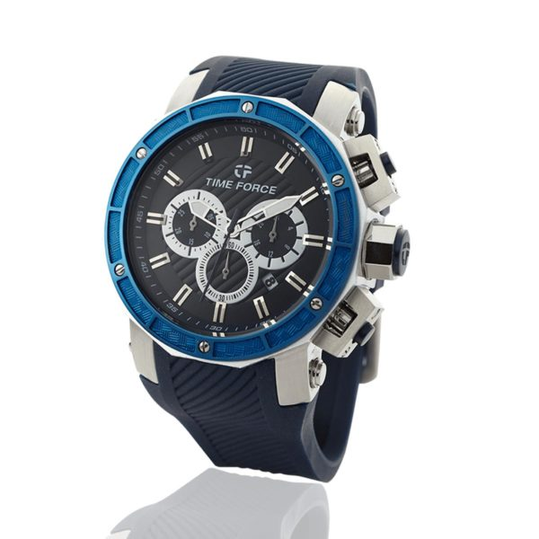 reloj time force sailing azul