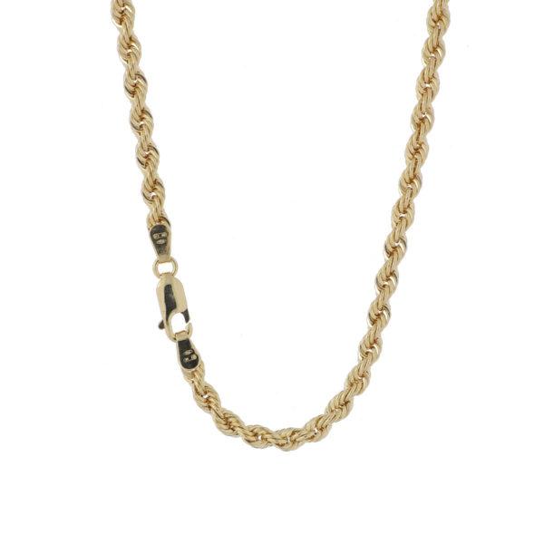 cadena laso oro amarillo
