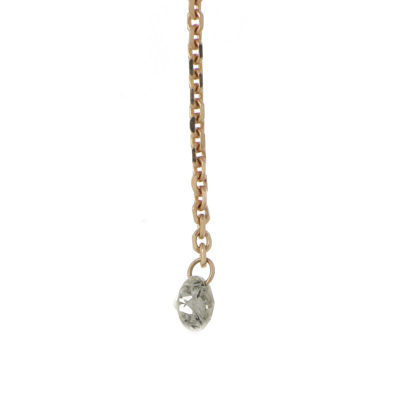 cadena diamante oro rosa