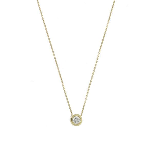 cadena oro diamante