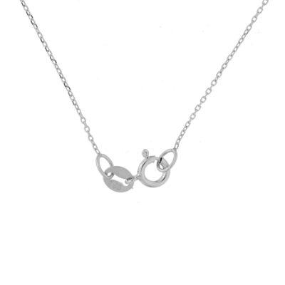 cadena oro blanco