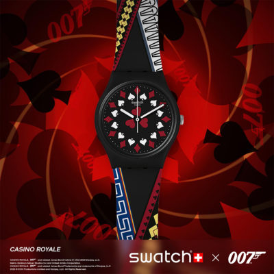 swatch casino royale