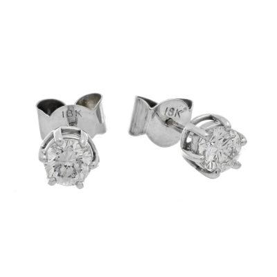 topos oro blanco diamantes