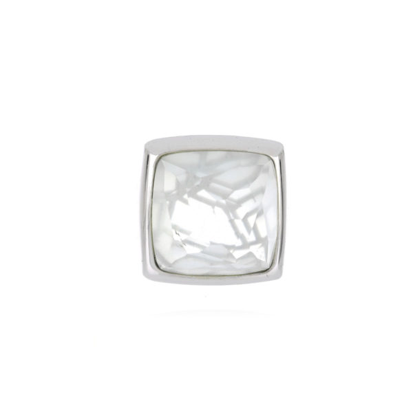 anillo plata cuarzo