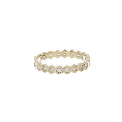 anillo oro amarillo