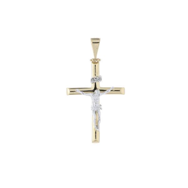 cruz oro amarillo