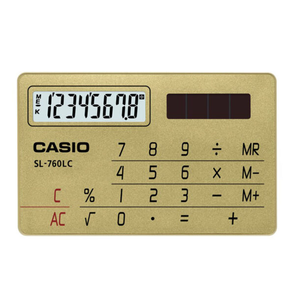 CALCUALDORA CASIO