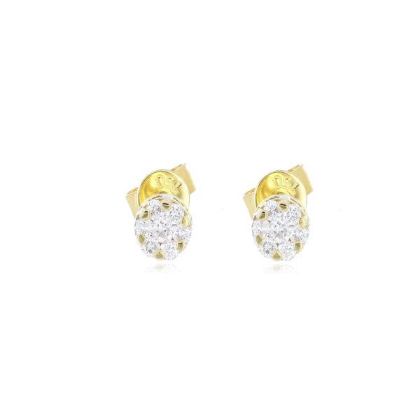 topo oro amarillo diamante
