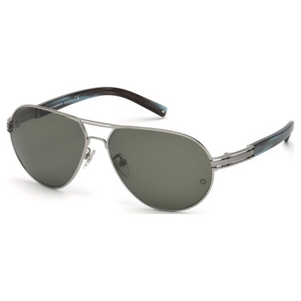 GAFAS Montblanc  Shiny Light Ruthenium MB4001S