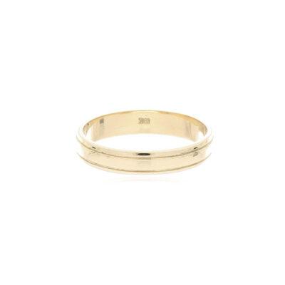 ANILLO Oro Amarillo Argolla matrimonio