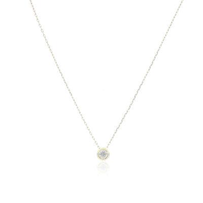 CADENA Oro Amarillo 40cm Diamantes