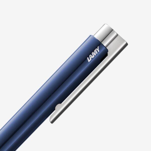 LAMY Logo M+ nightblue brillante bolígrafo