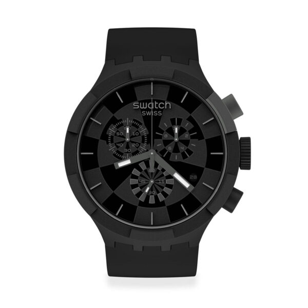Swatch Checkpoint Black  SB02B400